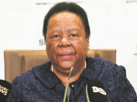 Naledi Pandor Repulsed by the Complaining
