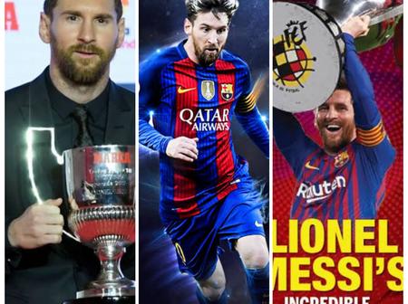Top 5 More Incredible Records Barcelona's Lionel Messi Has broken In 2019-20