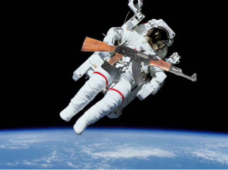 Do You Know- If You Fire a Gun in Space it Will Keep Moving Forever?