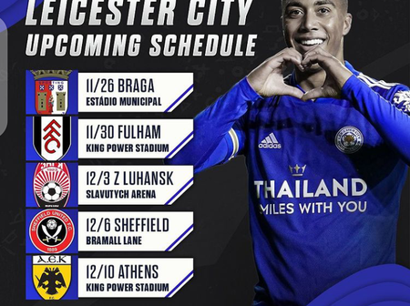 Leicester City Upcoming Schedule in All Competition