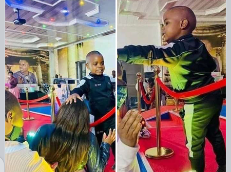 Look at What a Boy was seen doing to The Members of His Father's Church which sparked Reactions