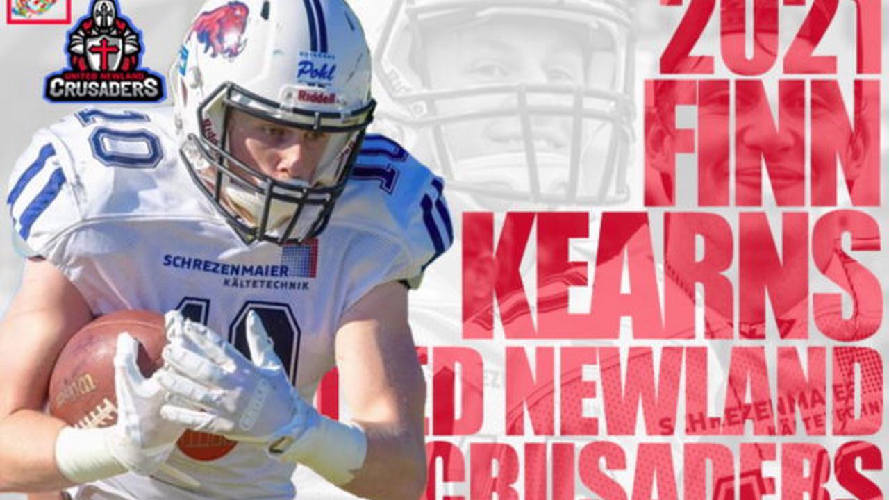 Finland: United Newland Crusaders sign Irish American WR Finn Kearns