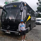 Reasons Why Wazito Fc Bus is Considered To Be the Most Luxurious Bus In Kenyan Soccer Teams