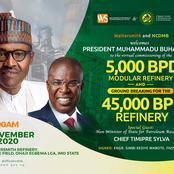 Presidency commissioned the building of a Refinery in Imo State