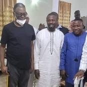 See adorable pictures of Sunday Igboho and OPC members who visited their leader Gani Adams