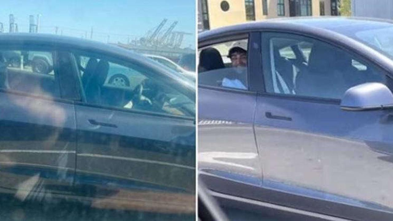 Tesla 'driver' arrested after riding in back seat on Oakland freeway