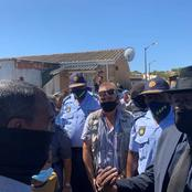 Mitchell's plain residents give Bheki Cele a frosty welcome the government is five days late