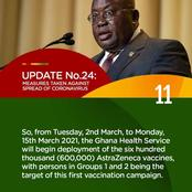 Fellow Ghanaians: Summary Of The President's 24th Address - All You Need To Know