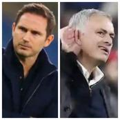 See What Lampard Told Mourinho After Chelsea's Goalless Draw Against Tottenham Hotspurs