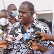 Poll Violence Case: CS Matiang'i Want MPs Arrested Over The Chaos Punished