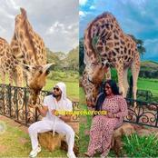See cute pictures that shows Dorathy and Prince were together in Kenya