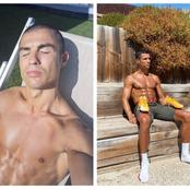 Pictures Of Cristiano Ronaldo Rocking His New Haircut While In Self Isolation