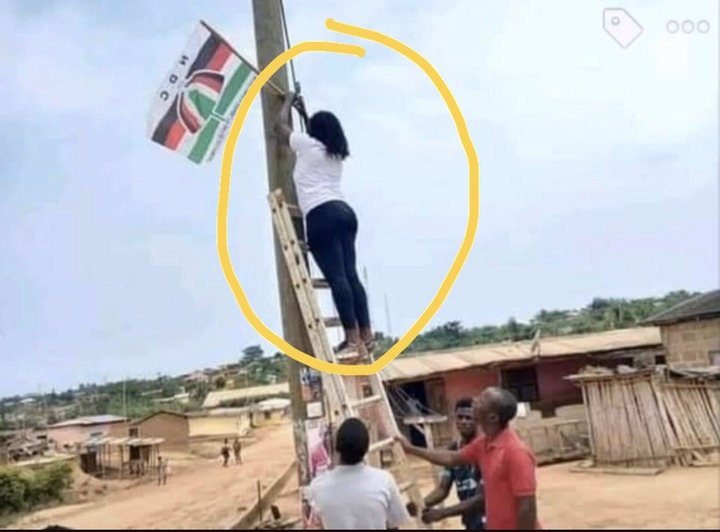 8b0243525a0c643e1c059c79a6ed81ff?quality=uhq&resize=720 - I never knew NDC lady supporters union loved the party like this until I saw this woman doing this