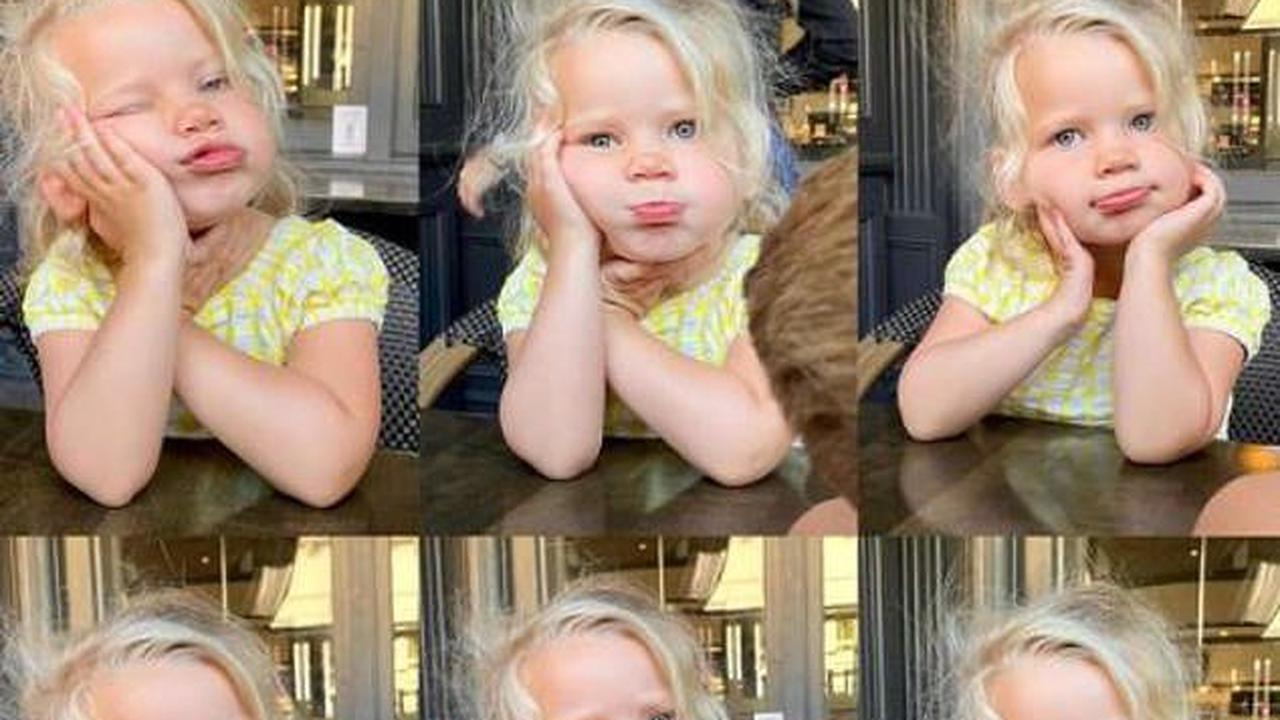 Jessica Simpson posts shot of her daughter Birdie Mae, two, after celebrating seven-year wedding anniversary with husband Eric Johnson