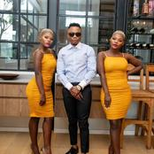 Qwabe twins and Dj Tira's recent picture causes a frenzy with their fans.