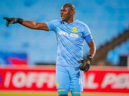 Mamelodi Sundowns Goalkeeper Announces Retirement
