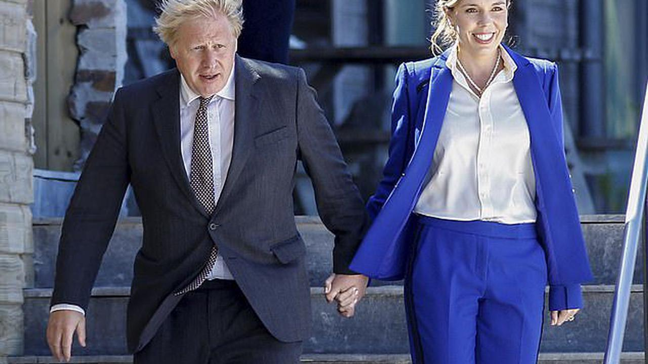 RICHARD LITTLEJOHN: Boris and Carrie are displaying certain traits associated with another famous couple.… I give you The Markles of Downing Street