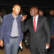 Pictures That Hint Who Peter Kenneth Might Support In 2022 Elections