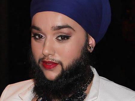 Meet Harnaam Kaur: the youngest female with a full beard, See how she handles this seeming disorder