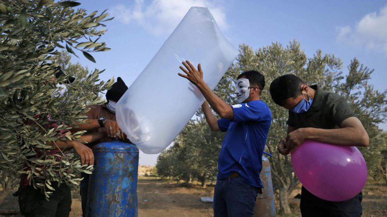 Nach BrandballonsIsrael ordnet Luftangriffe auf Gaza an