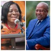 Ama Benyiwa Doe Is 73 Years Today - Check Out Political History & John Mahama's Message To Her