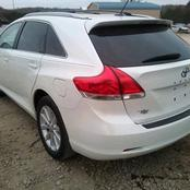 Checkout the prices of Toyota Venza in Nigeria in 2021