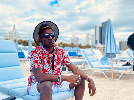 Shatta Wale travels to USA to shoot Music Video with Jamaican Superstar Skillibeng in Miami