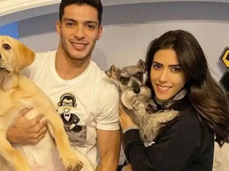 Meet Raul Jimenez's Girlfriend and His Baby Daughter he Dedicated His Winner Goal against Leeds to