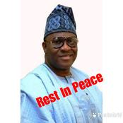 Sad: 10 Prominent Nigerian Politicians Who Died In 2020 And What Caused Their Death (Photos)