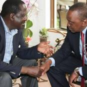 Details Of Uhuru and Raila's Night Phone Call That Saved The Handshake