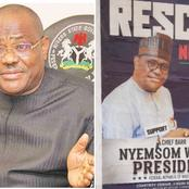 Governor Wike Speaks On His Viral Presidential Campaign Posters, Reveals The People Behind It