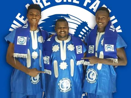 Nigerian Youth Stars Promote African Culture At KAA Gent Unveiling