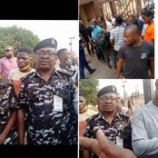 Check out what this DPO did for student protesters in Abeokuta that got reactions (Video)