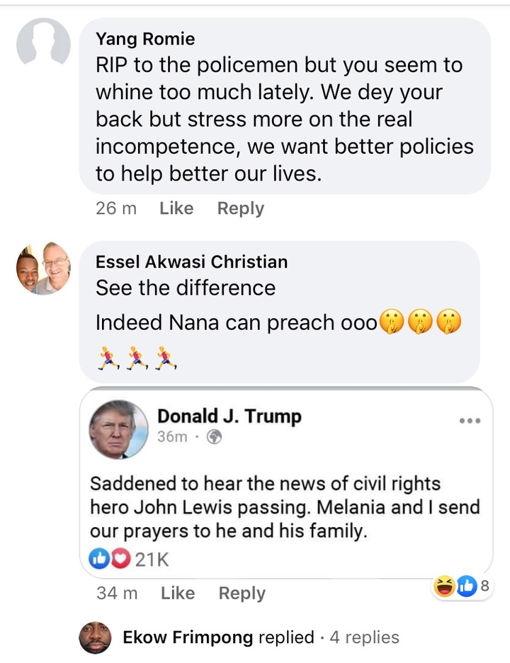 8b660ae892152eea850b3458bf87e81d?quality=uhq&resize=720 - Nana Addo Roasted For Ignoring Policeman Who Drown In Oda But Sent Condolence To John Lewis' Family