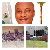 Essien Udim Crises: House Member Donates Palliatives And Relieved Materials To Displaced Persons.