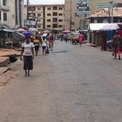 See How Onitsha Looks Like  After Yesterdays Attack By Hoodlums.