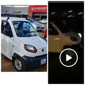 The Trending Qute Car Has Been Involved In An Accident - It Couldn't Make A Fast Turn- (VIDEO)
