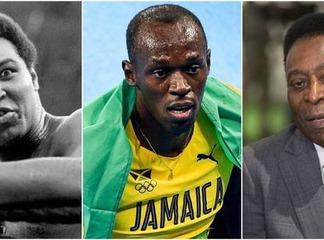 Les sportifs noirs qui sont devénus les meilleurs de tout les temps dans leur sport