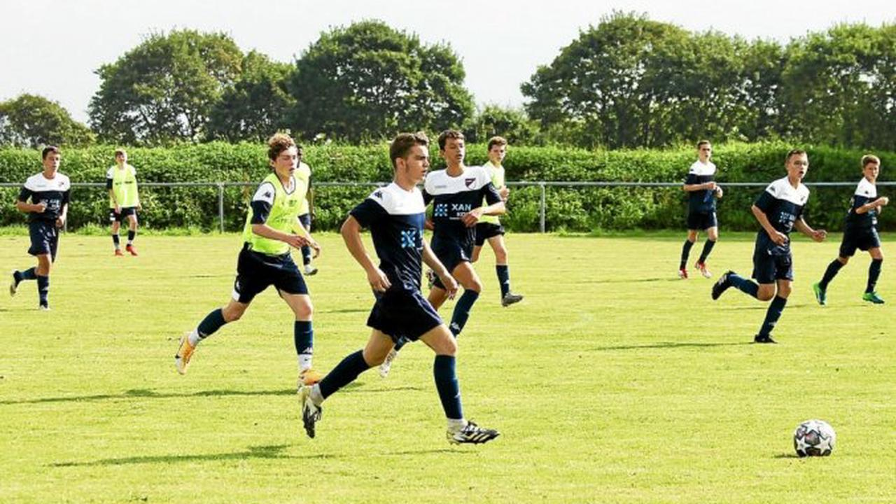 Morlaix - L'équipe A de l'ASSM football sortie de la Coupe de France