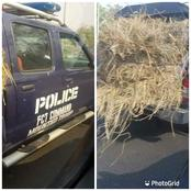 Checkout What This Nigeria Police Vehicle Was Spotted Conveying In Abuja [PHOTOS]