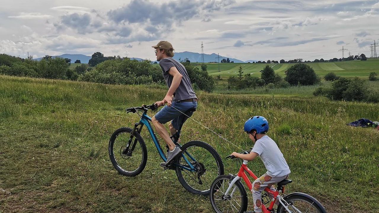 BikeZipper Ziehsystem: Neues Abschleppseil für die Kleinsten