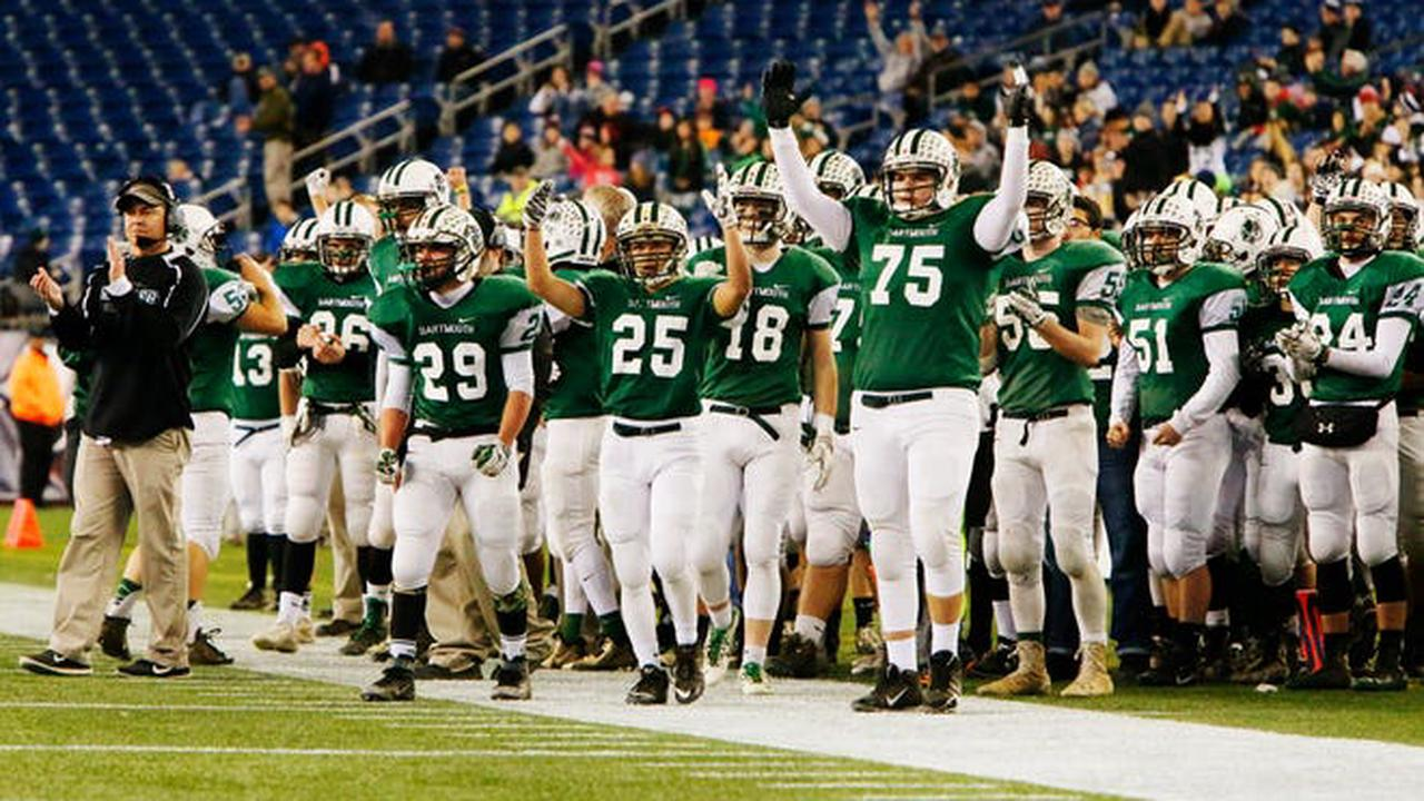 Dartmouth football was the only SouthCoast team to win back-to-back titles in the 2010s