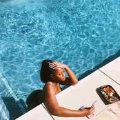 Tems poses in new bikini photos