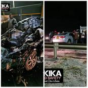 Several Feared Dead After a Deadly Head-on Collision Accident Along Mombasa Road
