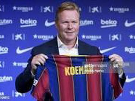 Ronald Koeman is furious with Barcelona President, Bartomeu on a possible transfer miss out