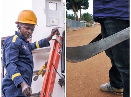 Angry Customer Cuts Electricity Staff With Machete In Abia State