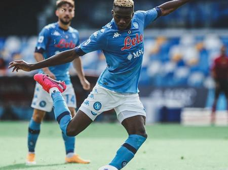 Super Eagles star Victor Osimhen shines in Napoli's away Victory