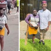 Kogi Born Amputee Street Hawker Received Help, Gets N1M From Ugwumba Uche Nwosu (Photos)