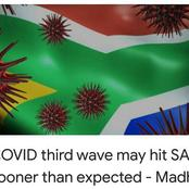 3rd weave of covid 19 might hit South Africa soon
