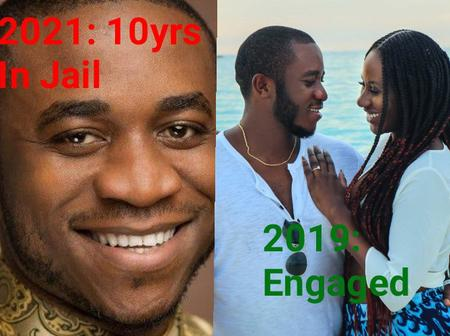 The Billionaire Who Was Convicted In The US, See Throwback Photos Of His Engagement(Details)
